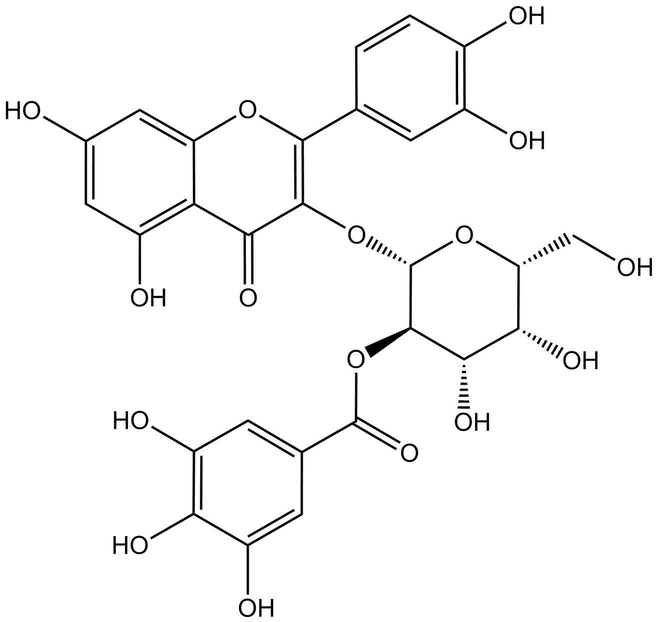 2''-Galloylhyperin phyproof® Referenzsubstanz   PhytoLab