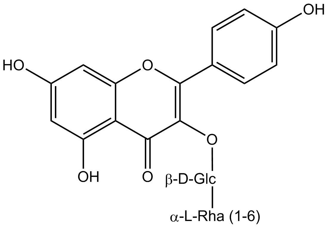 Kaempferol 3-rutinoside phyproof® Reference Substance   PhytoLab