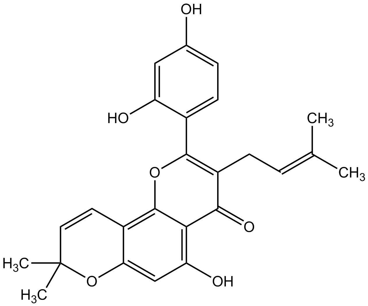 Morusin phyproof® Reference Substance | PhytoLab