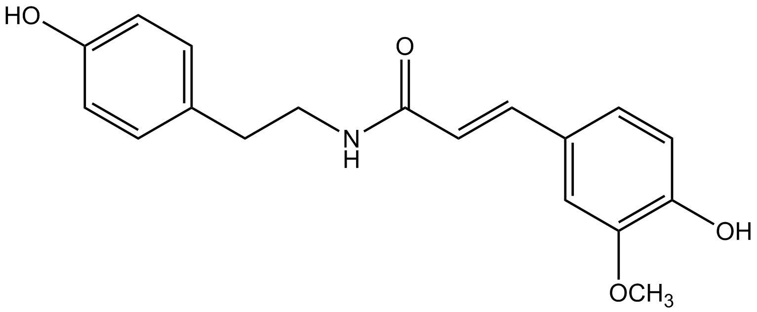 N-trans-Feruloyltyramine phyproof® Reference Substance | PhytoLab